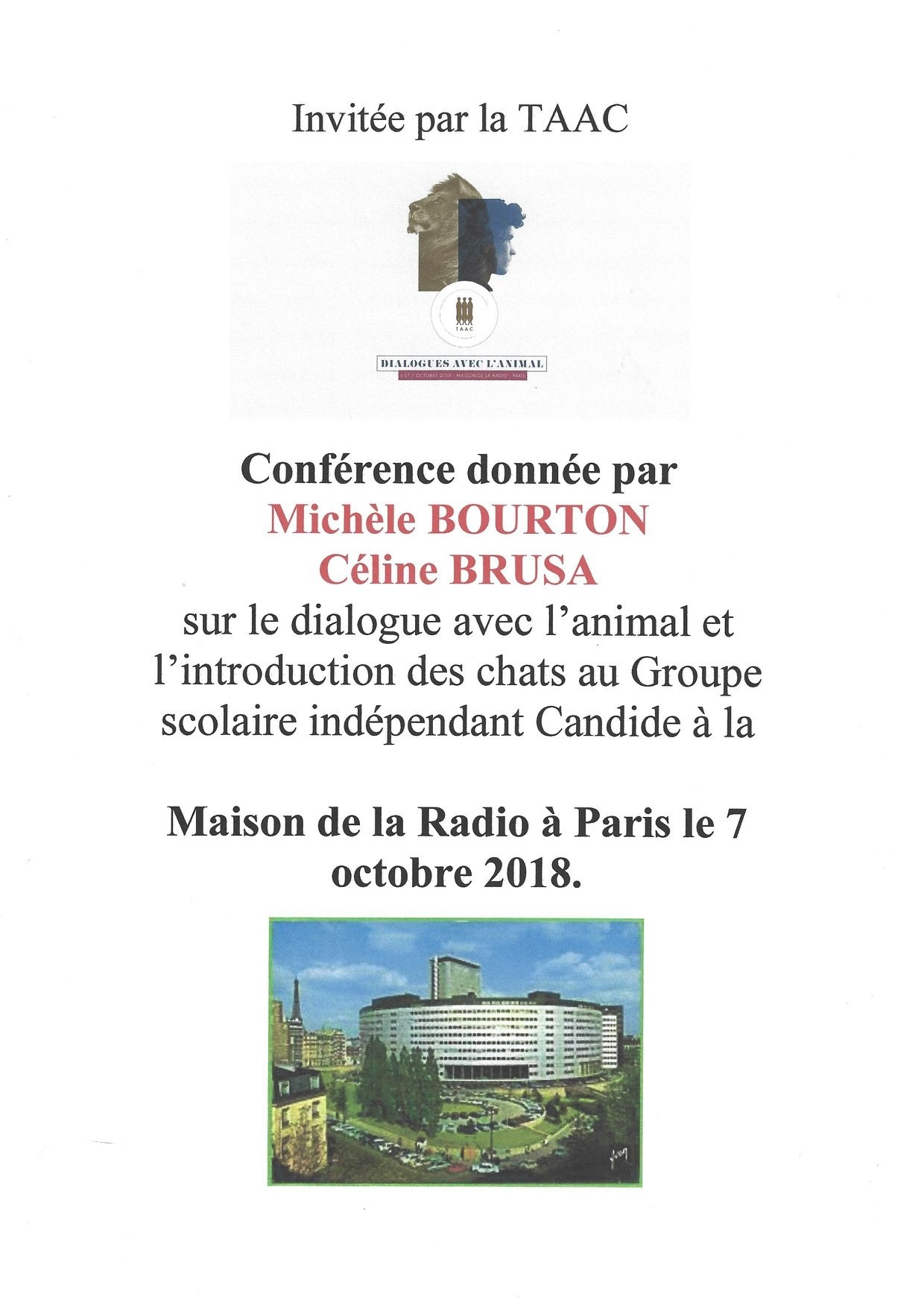 Conf mais radio paris
