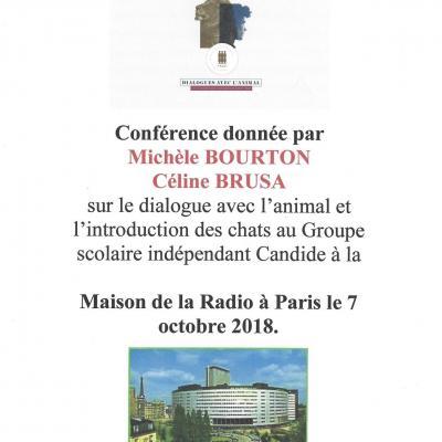 Conf mais radio paris