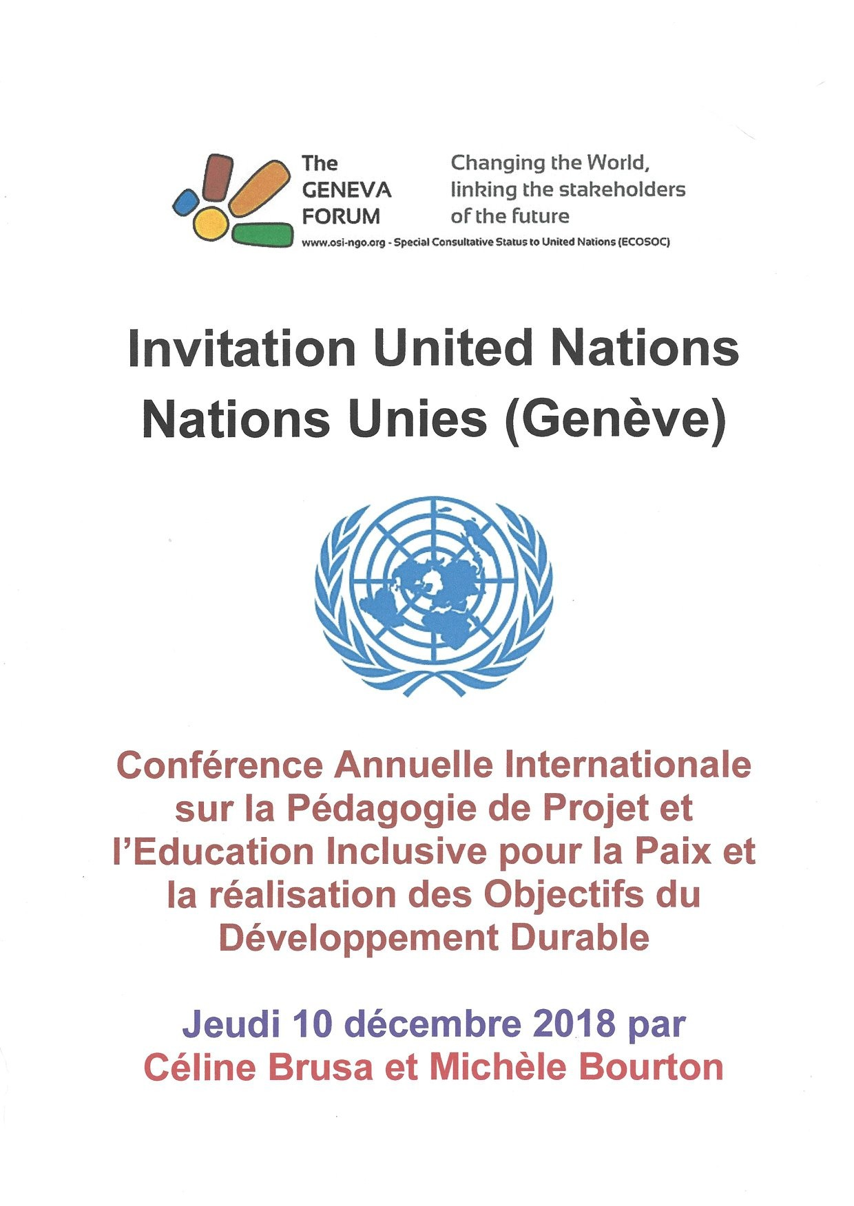 Conf nations unies