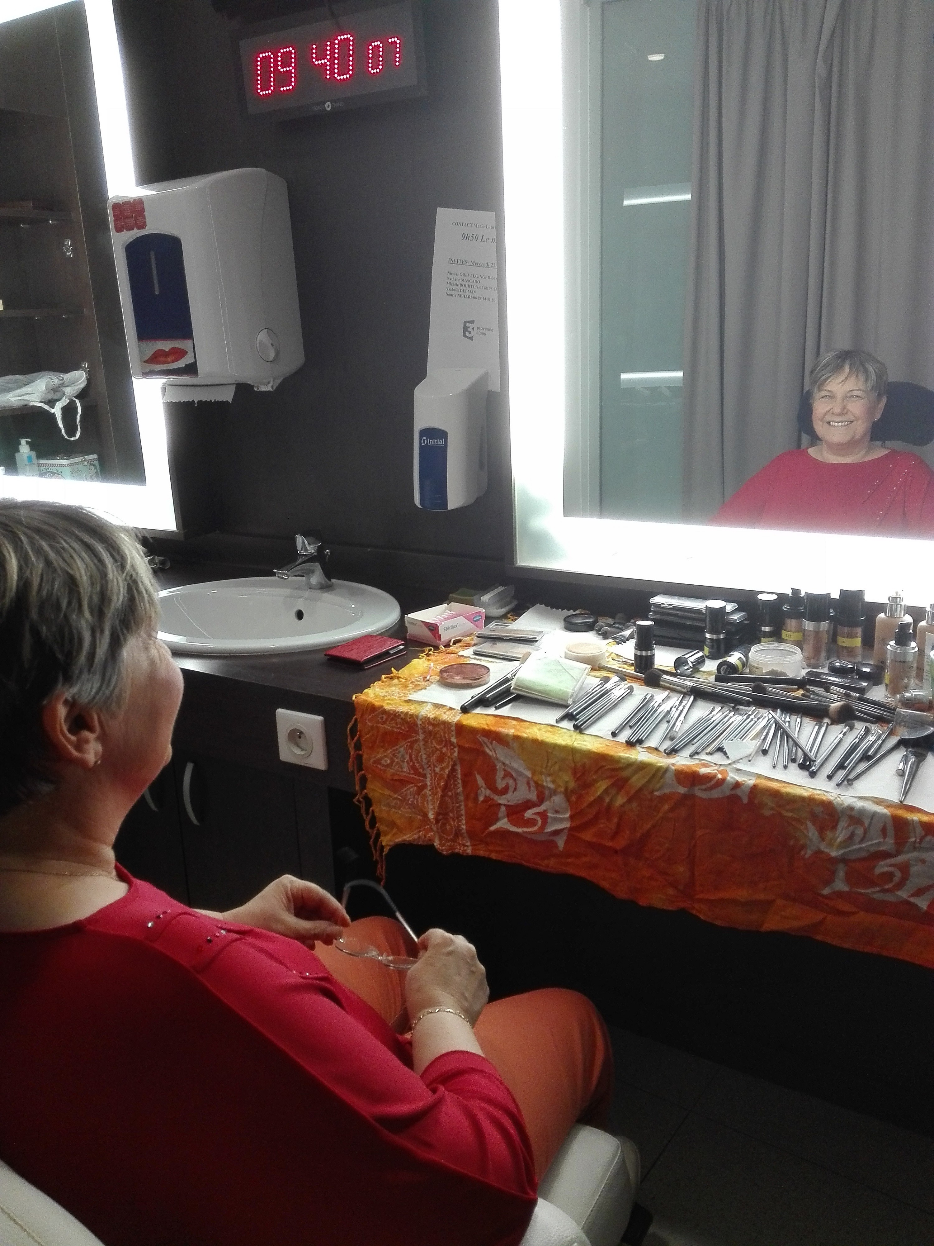 Maquillage direct France 3 mai 2019