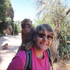 Michèle au Maroc
