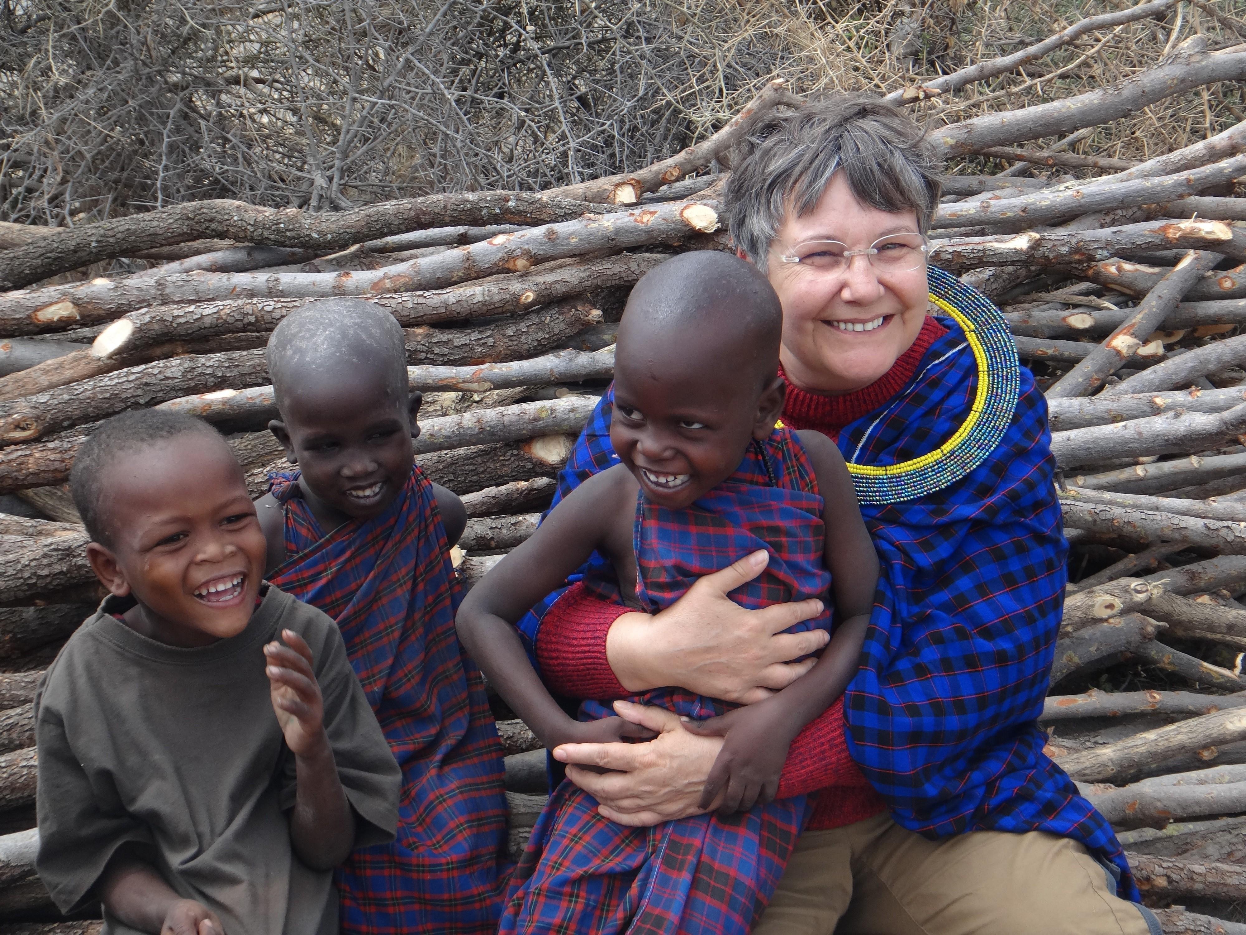 Michèle en Tanzanie